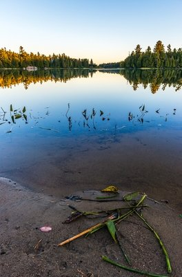 All's Quiet On Whitefish Lake, Algonquin Park, Ontario, Canada