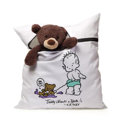 When Teddy Bear needs a bath!