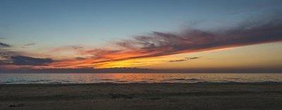 Orange Streak, Sauble Beach, Ontario, Canada