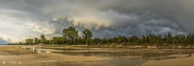 Storm Overhead, South Sauble Beach, Ontario, Canada