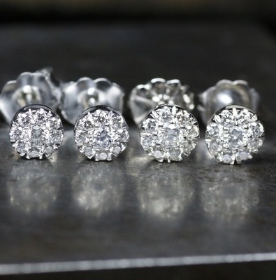PLATINUM DIAMOND STUDS