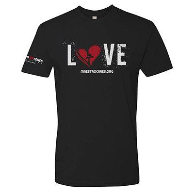 Men's MC Love T-Shirt (Black) 00005