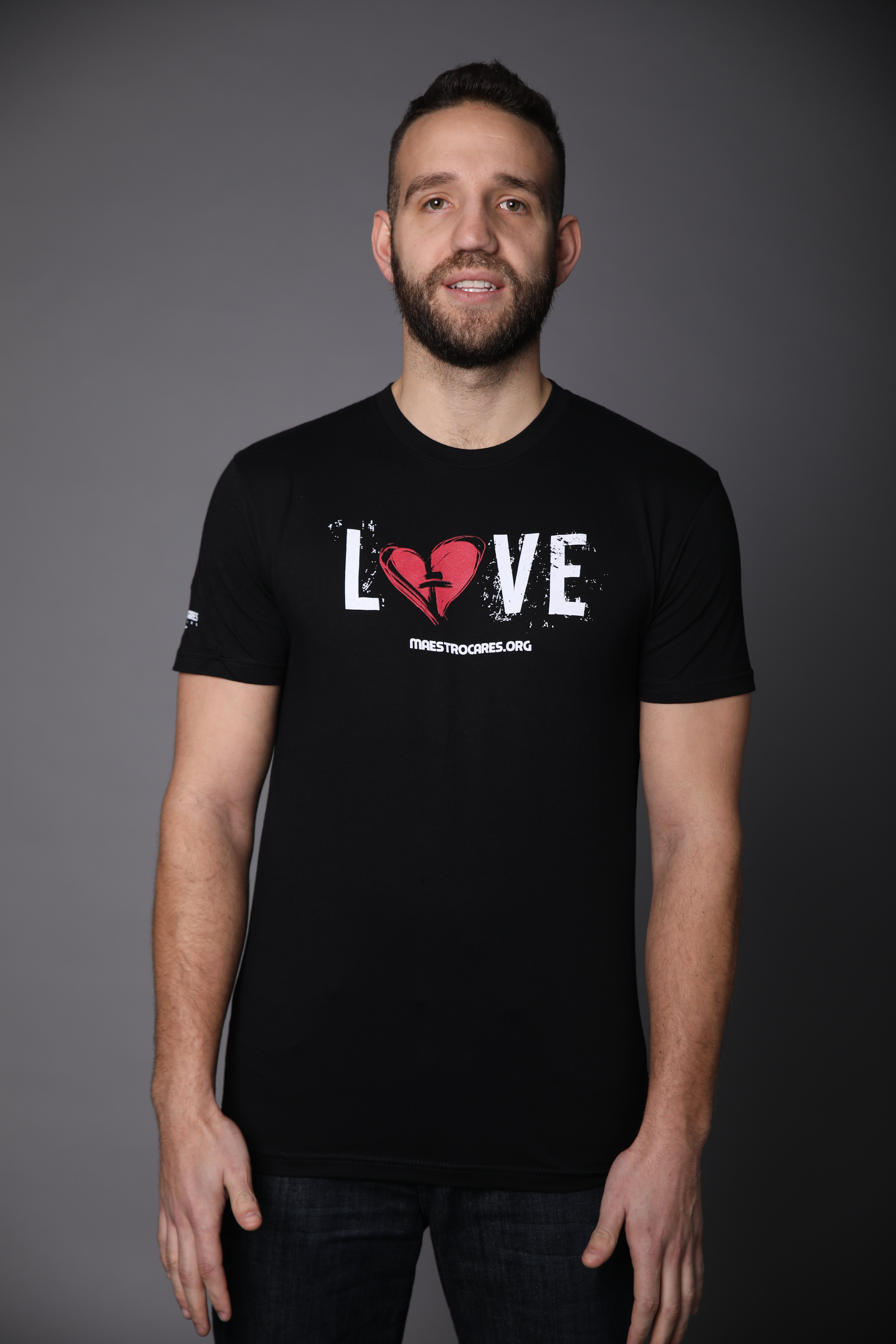 Men's MC Love T-Shirt (Black)