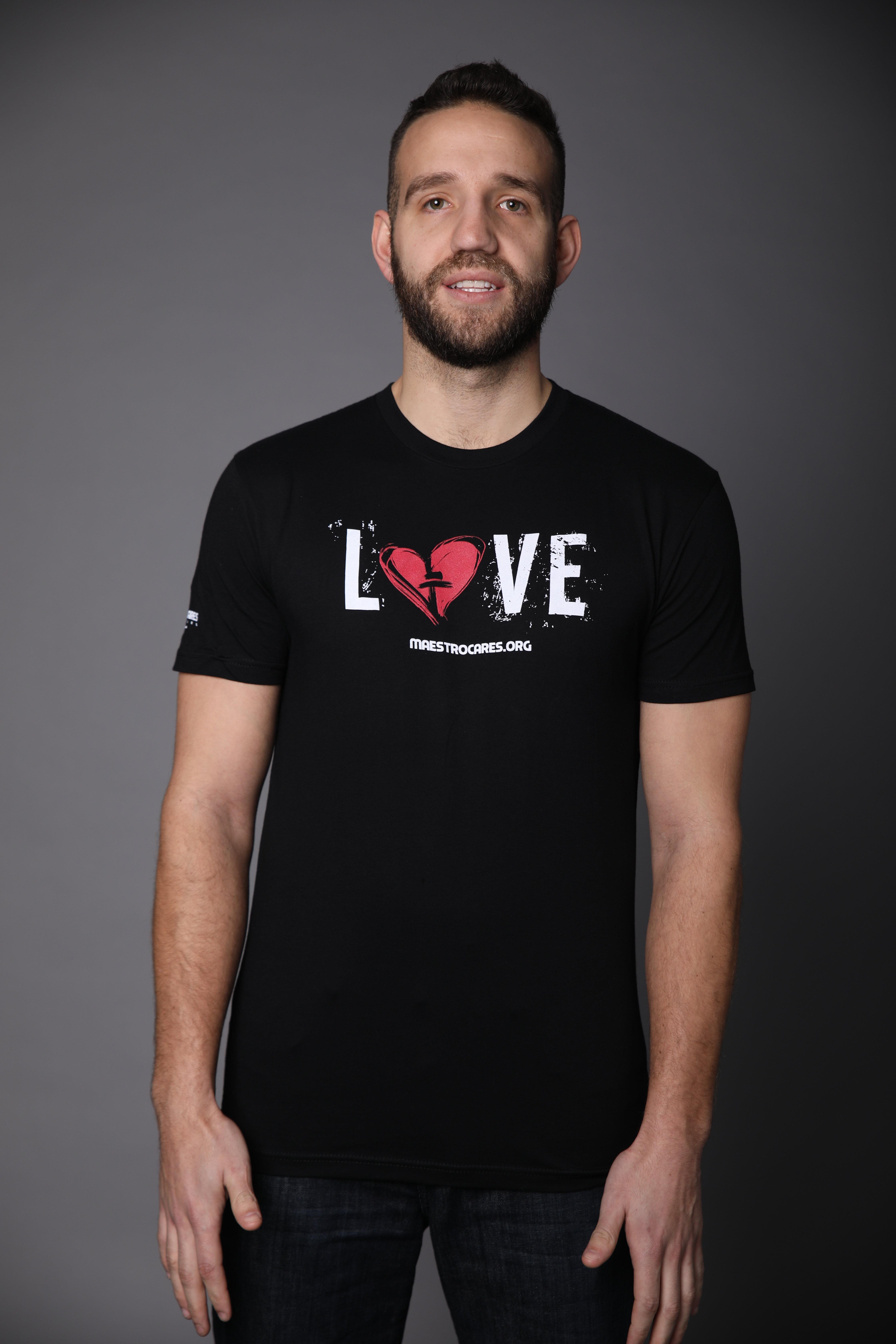 Men's MC Love T-Shirt (Black)