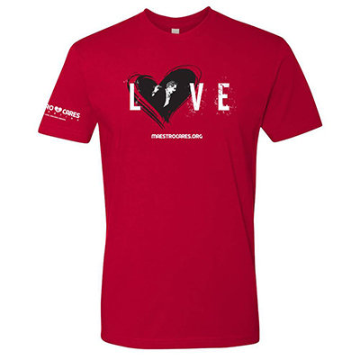 MC Love Men T-Shirt (Red) 00004