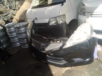 Honda Fit Nose Cut