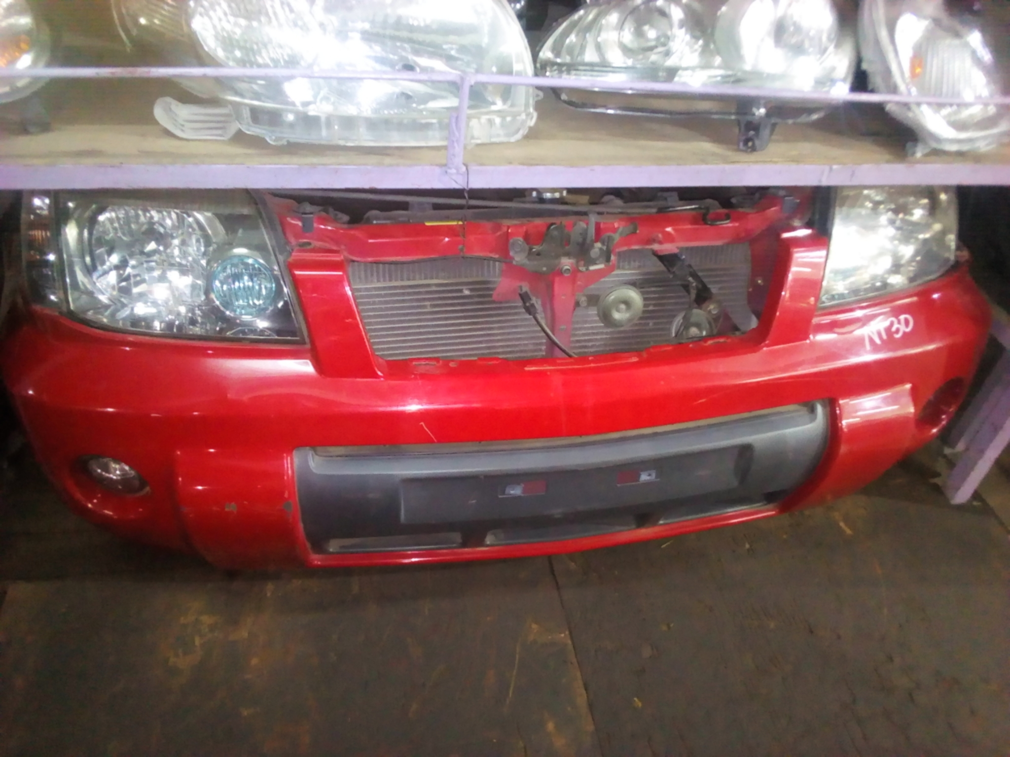 Nissan Xtrail Nose Cut 03274