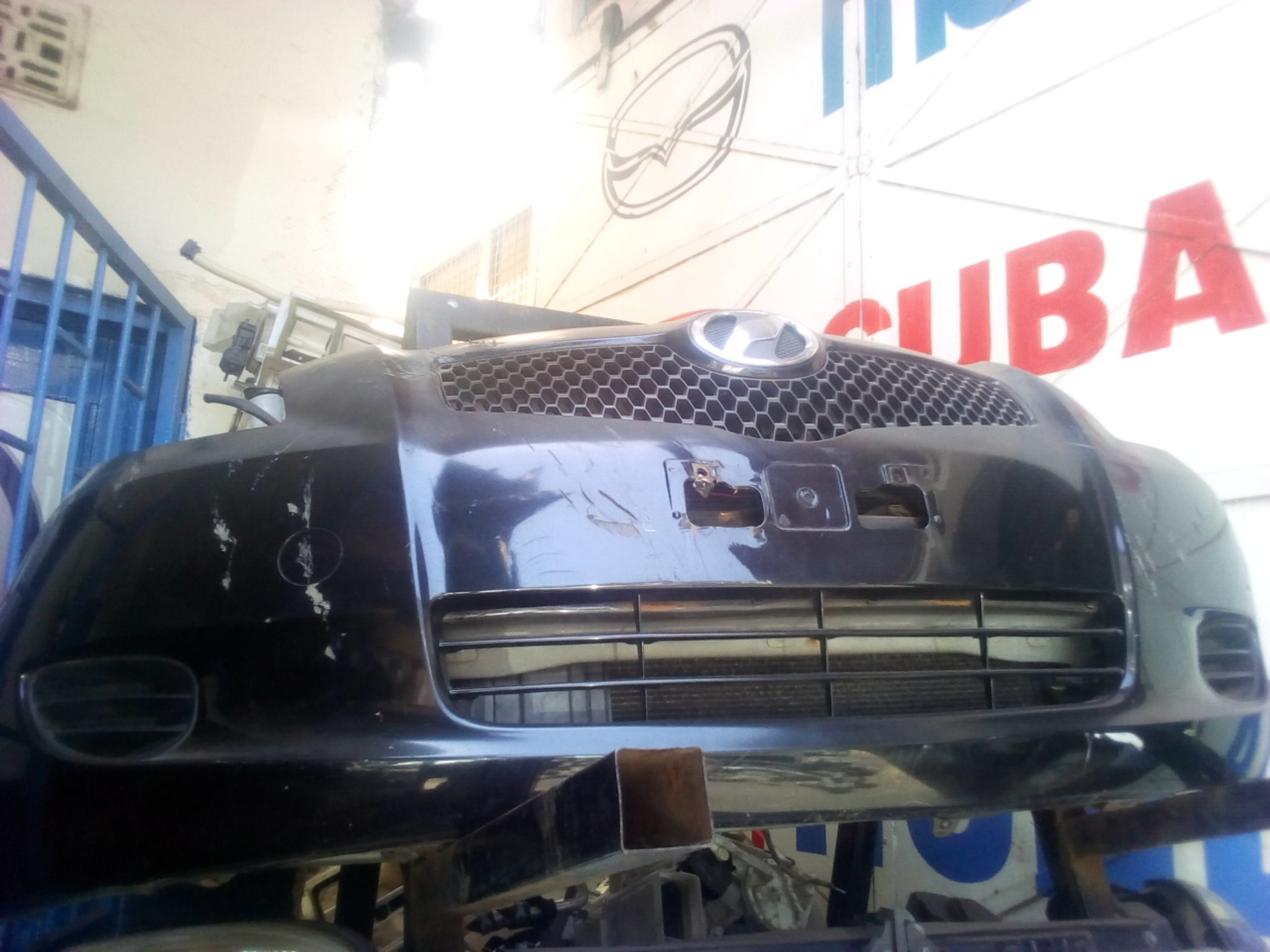 Toyota Vitz Nose Cut  03365