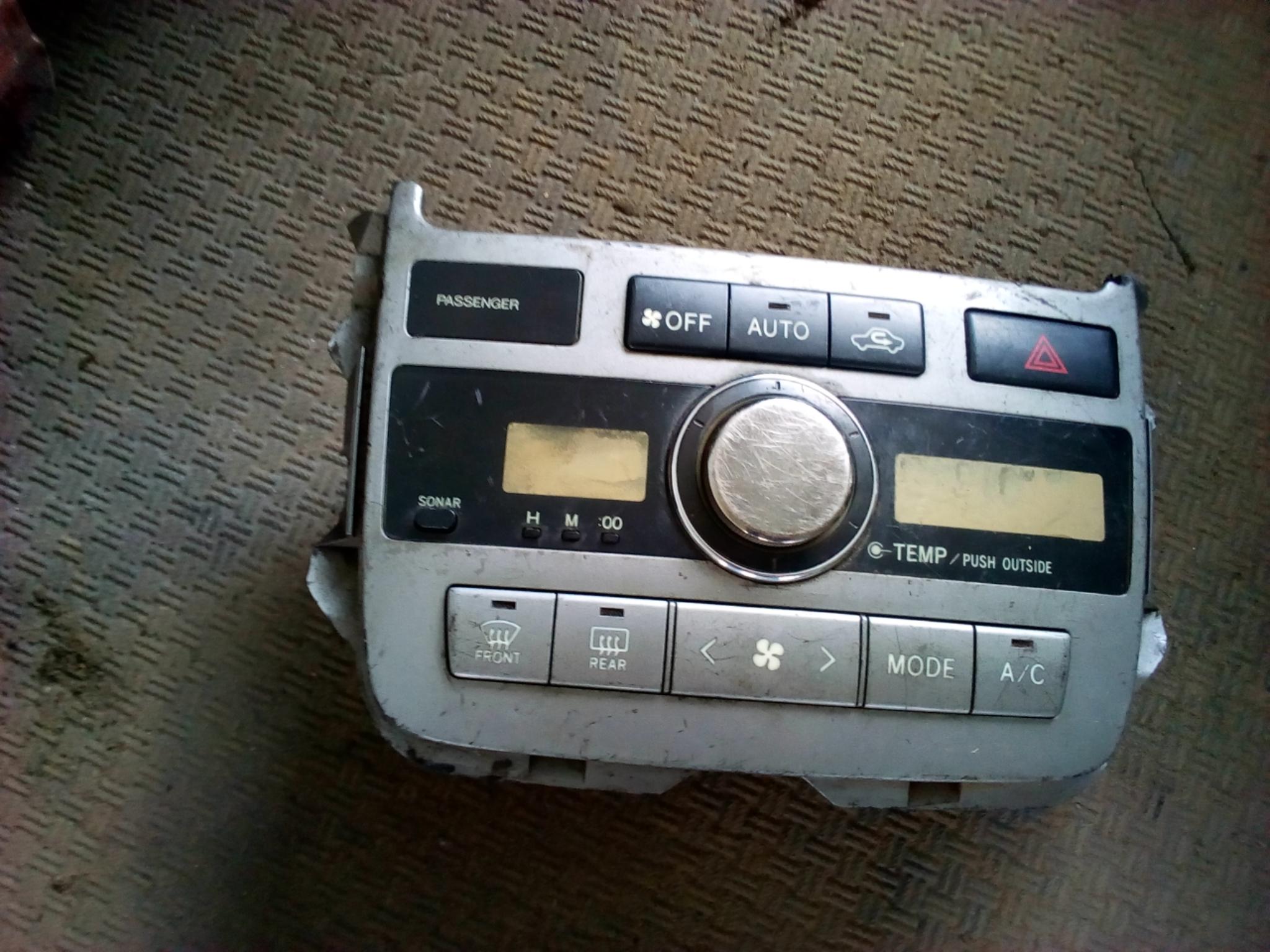 Radio panel 03407
