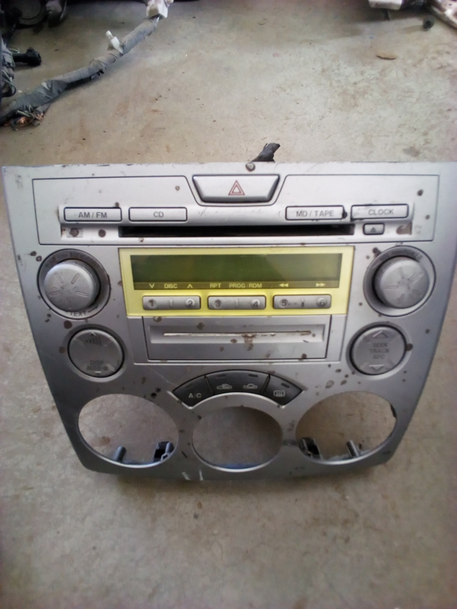Radio panel 03408