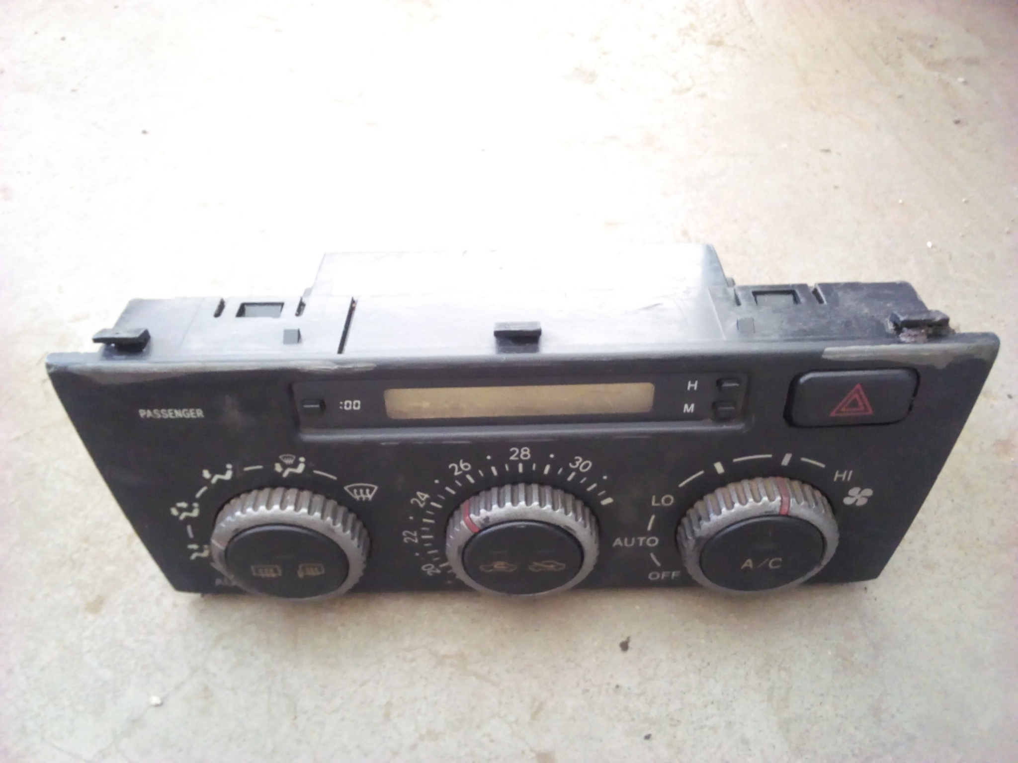 Radio panel 03411