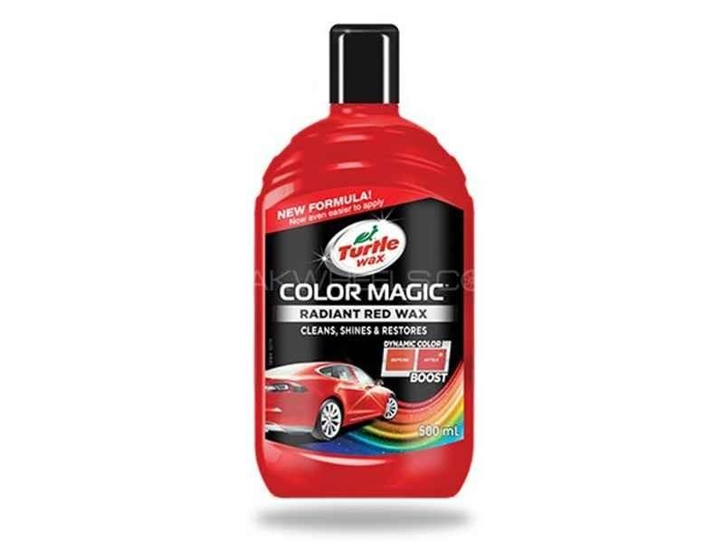 Turlte wax colour magic red