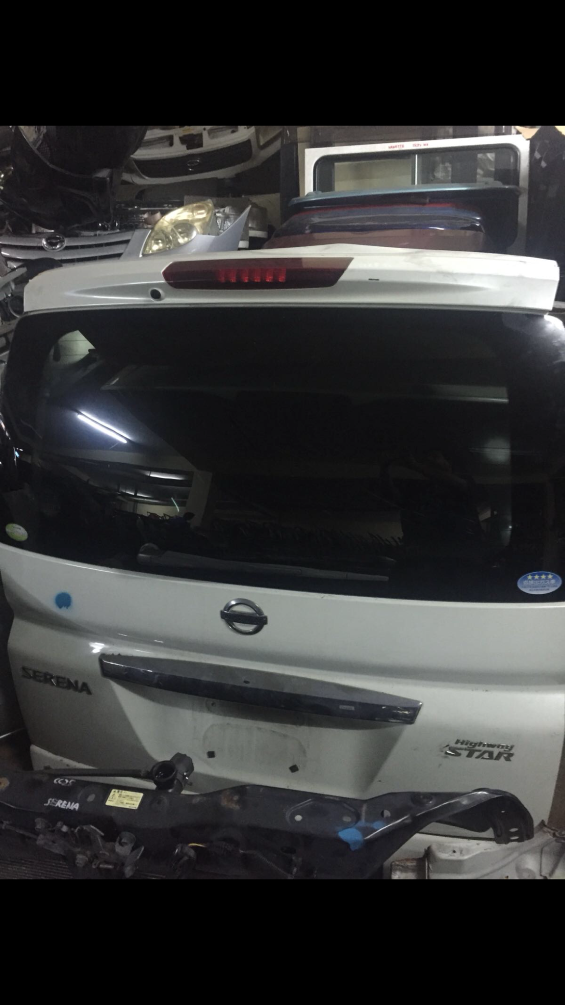 nissan sareena boot 00003