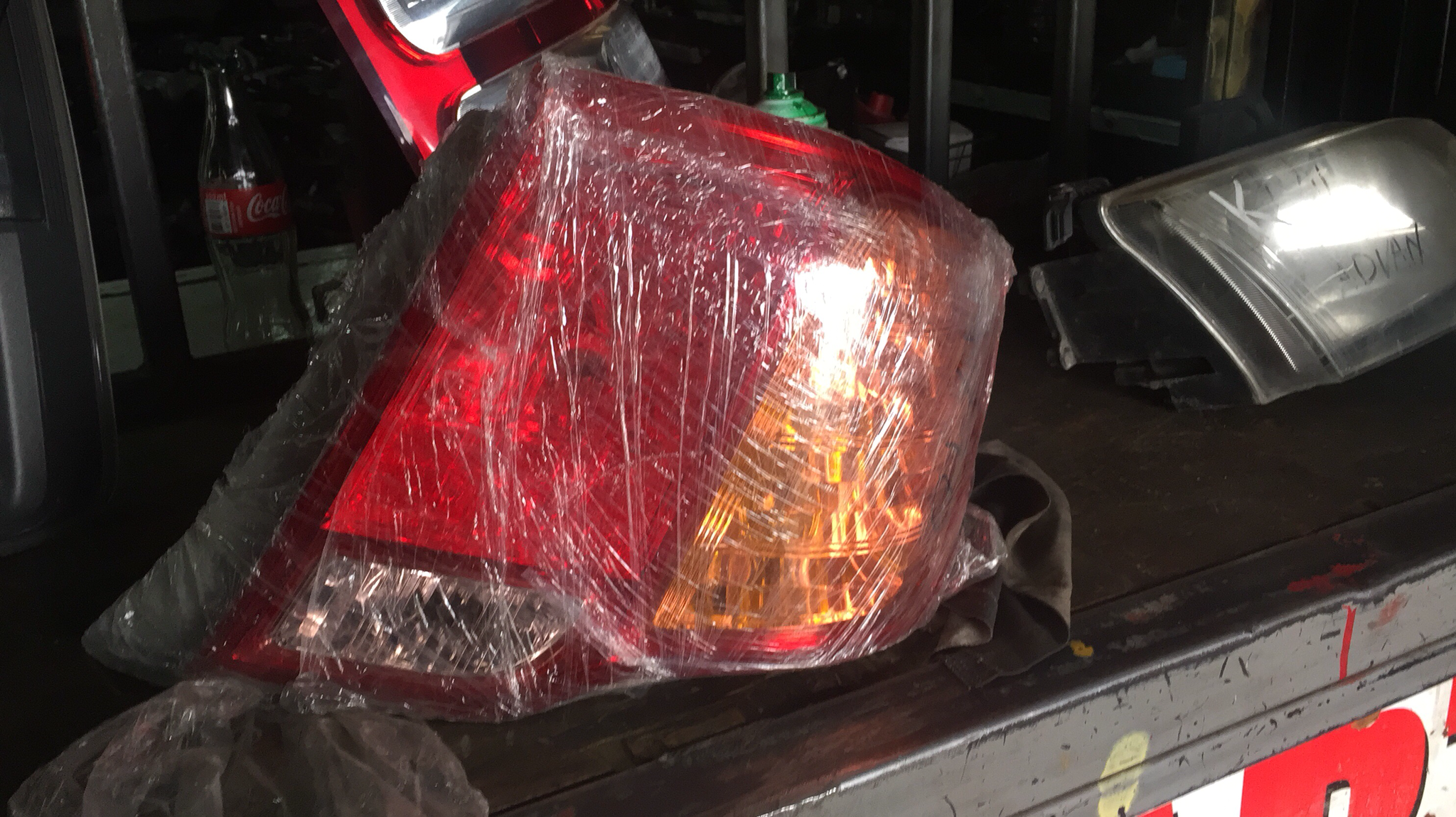 Toyota Axio Tail lights 00007