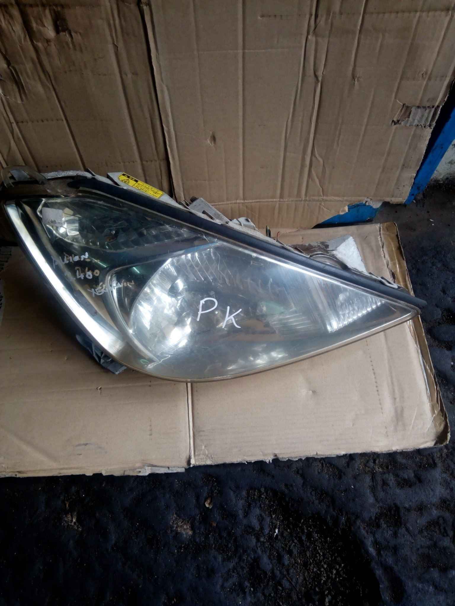 Toyota Allion 240 xenon headlight 00018