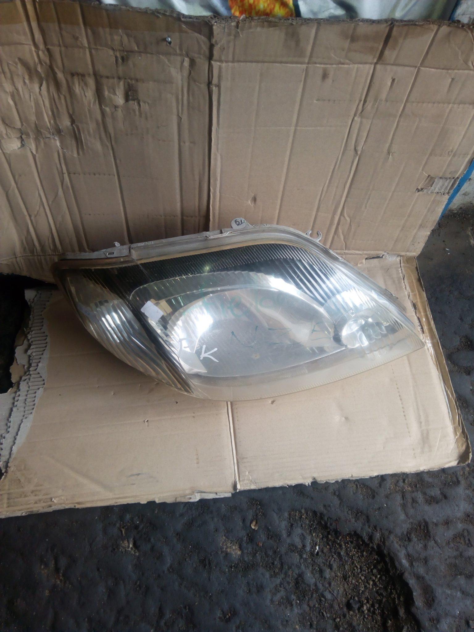 Toyota fielder headlight 00019pk