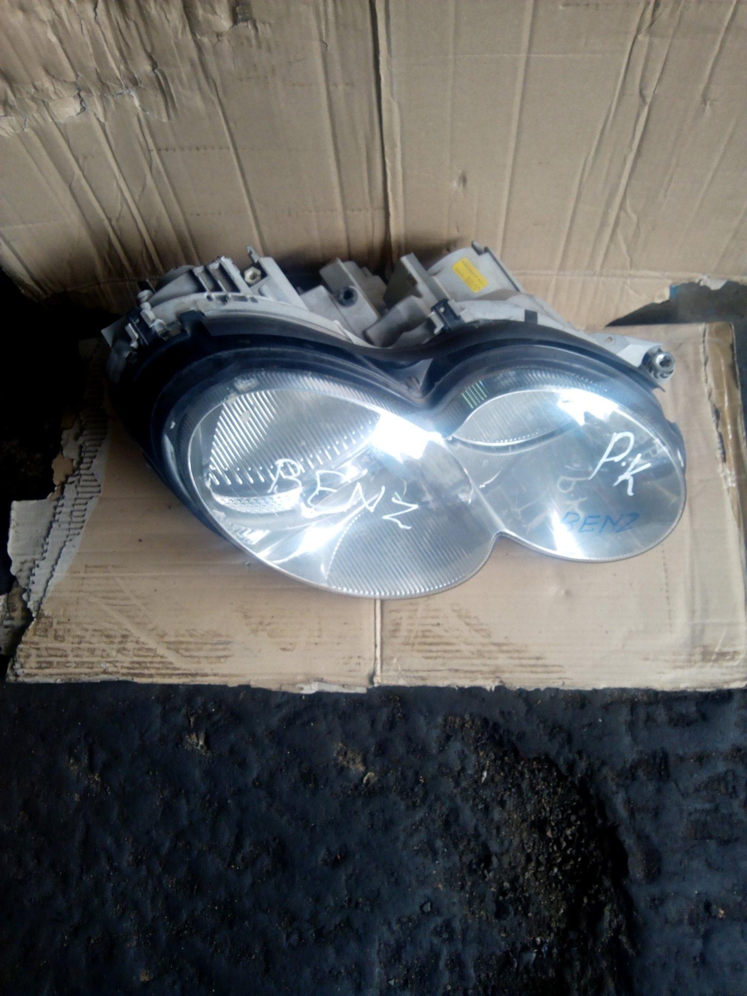 Mercedes Benz headlight 00051