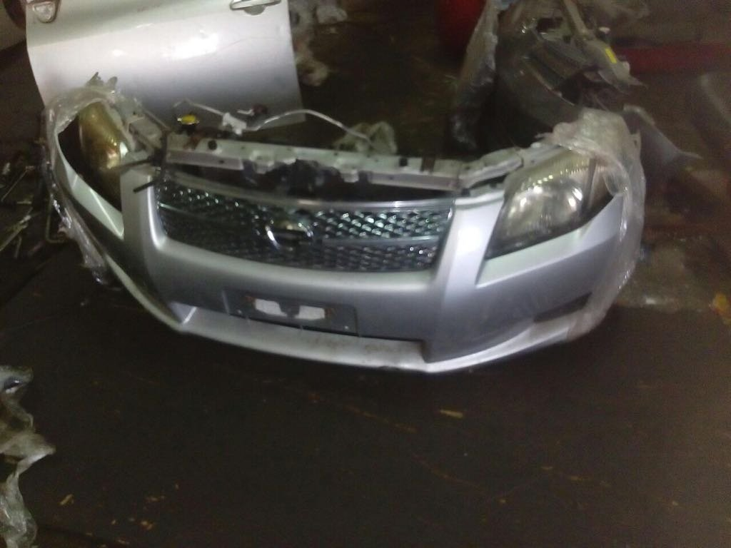 toyota axio nose cut 00112