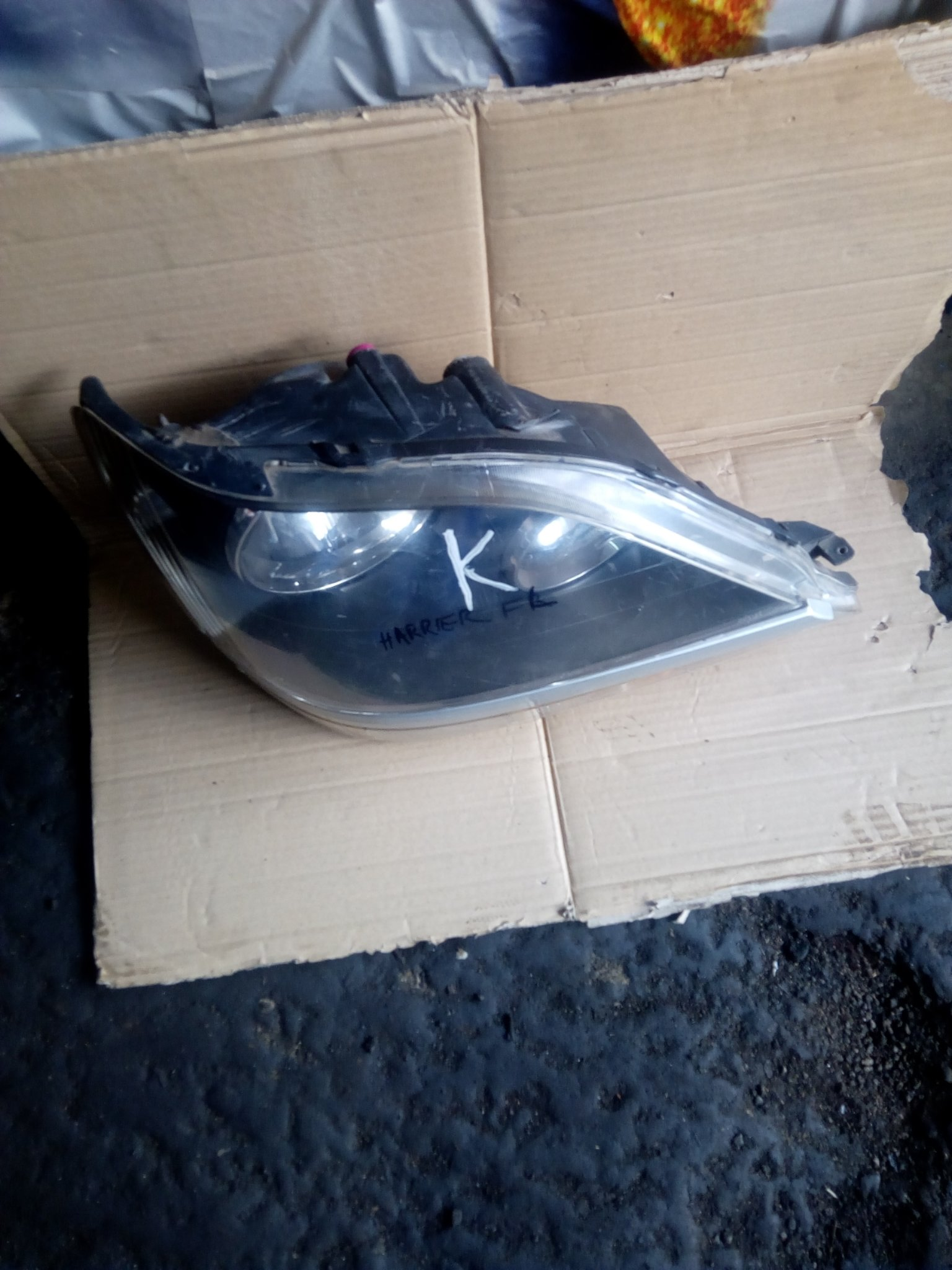 Toyota harrier headlight mcu10 00151