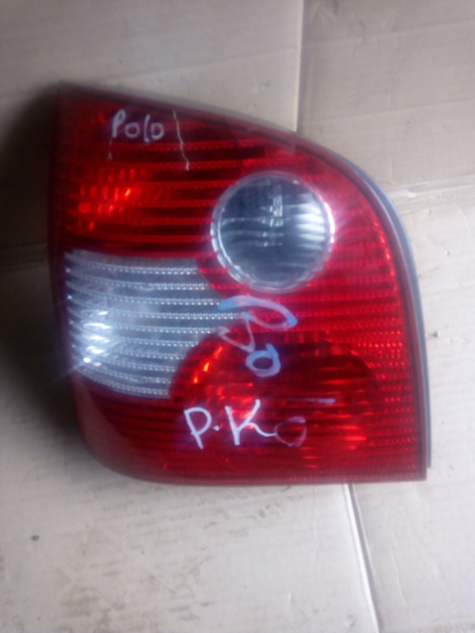 vw Polo tail light 00255