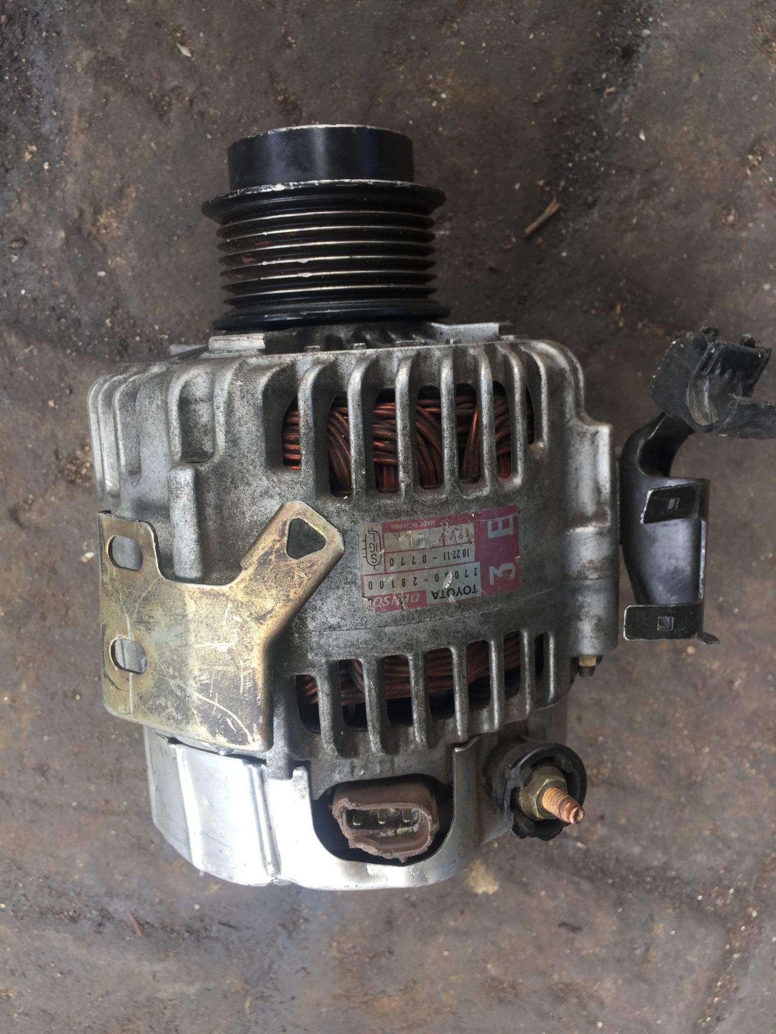 1AZ alternator 00259