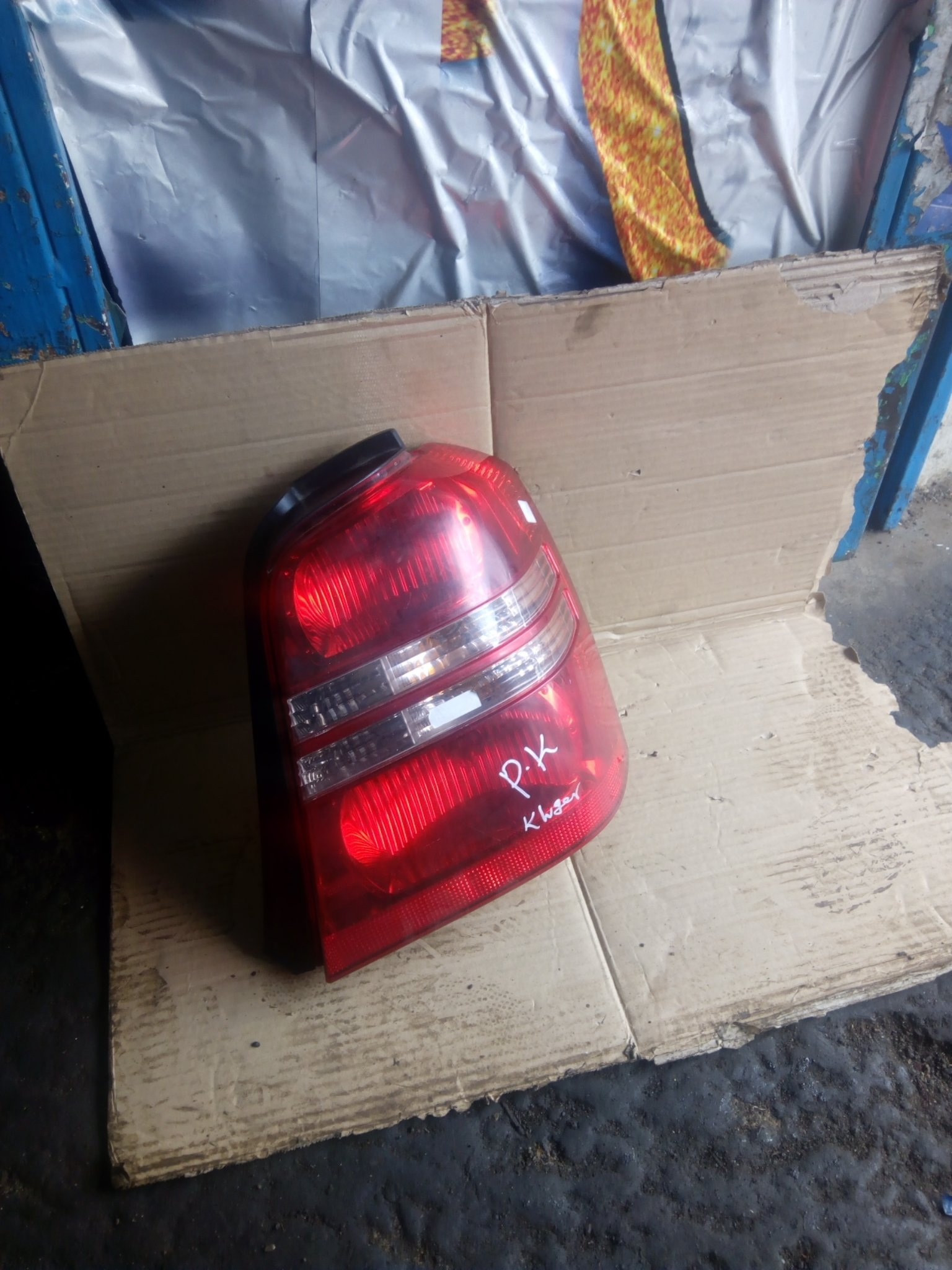 Toyota Kluger tail light 00281