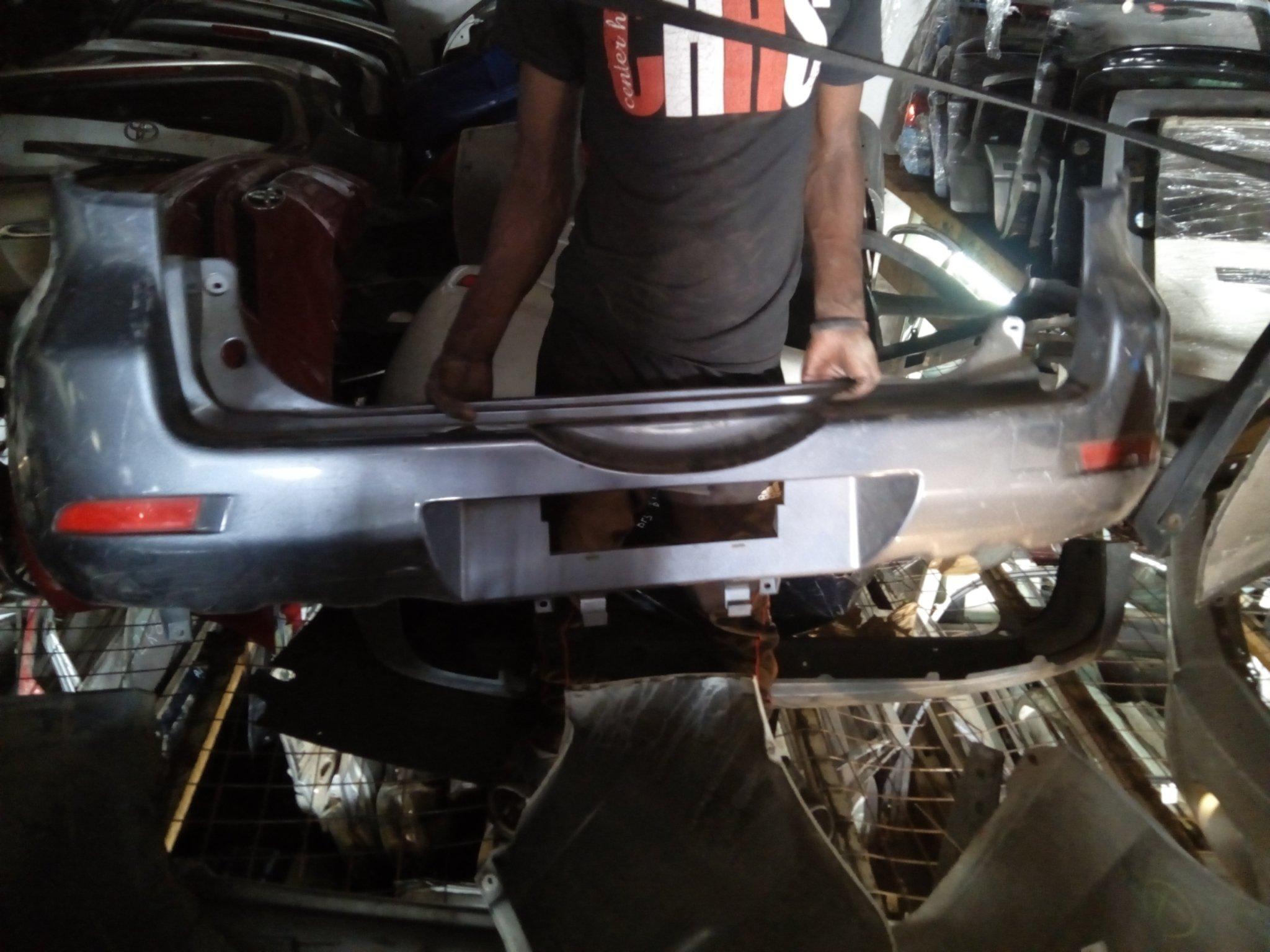 Toyota Rush rare bamper 00495