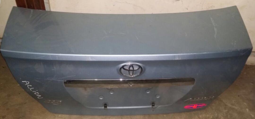 Toyota allian  00654