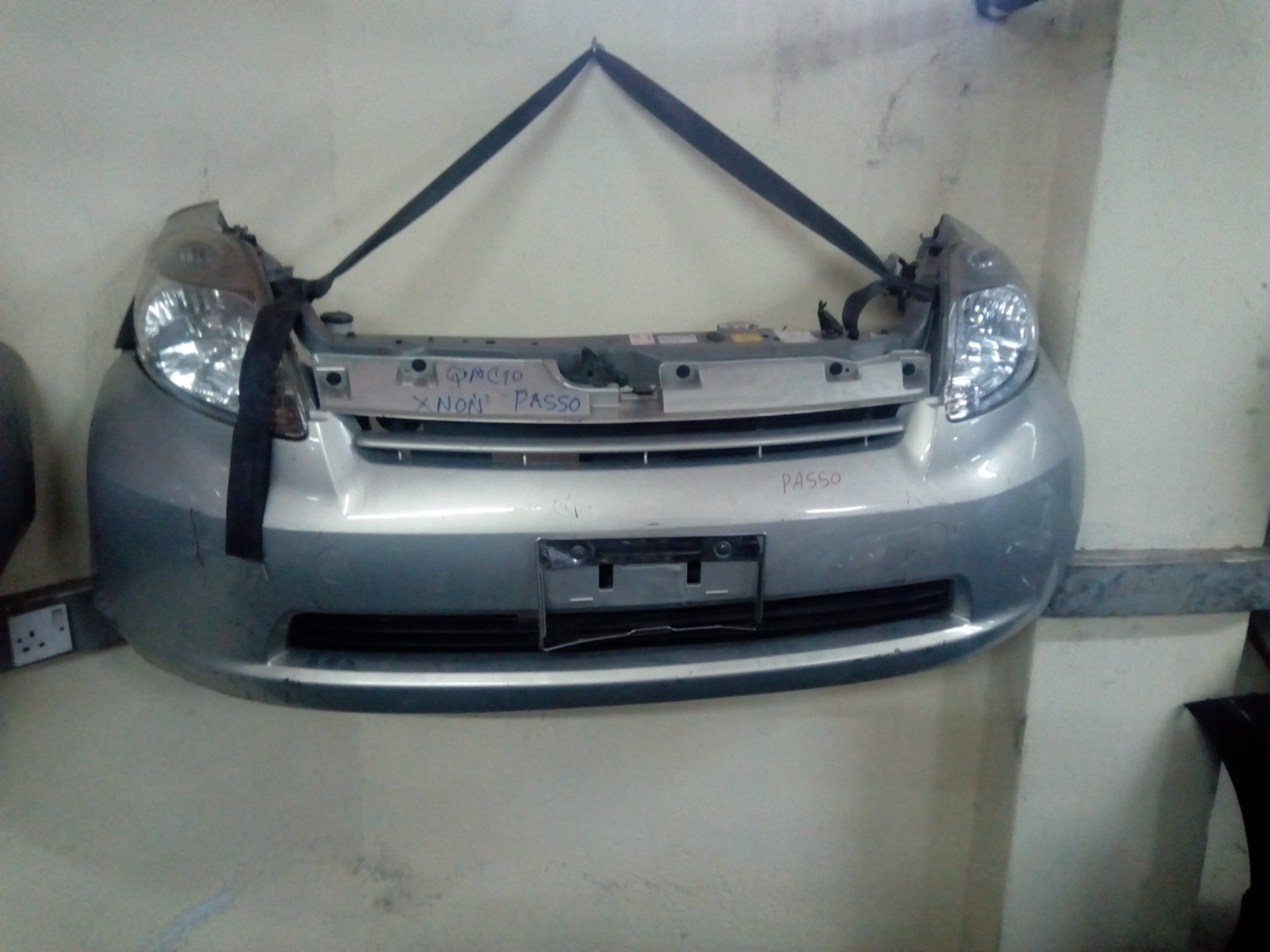 Toyota pasoo nose cut 00876