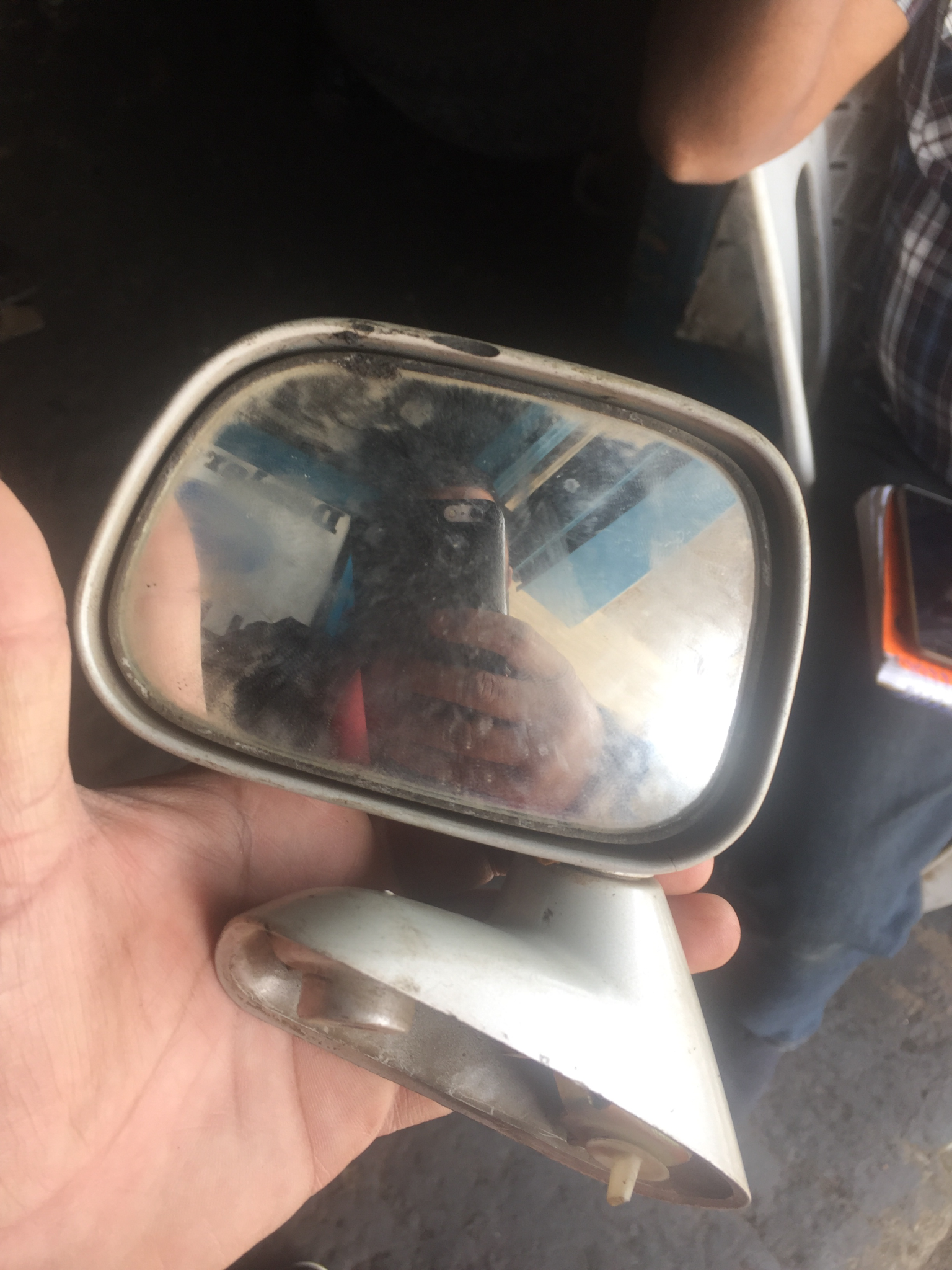 Toyota Surf wing mirror