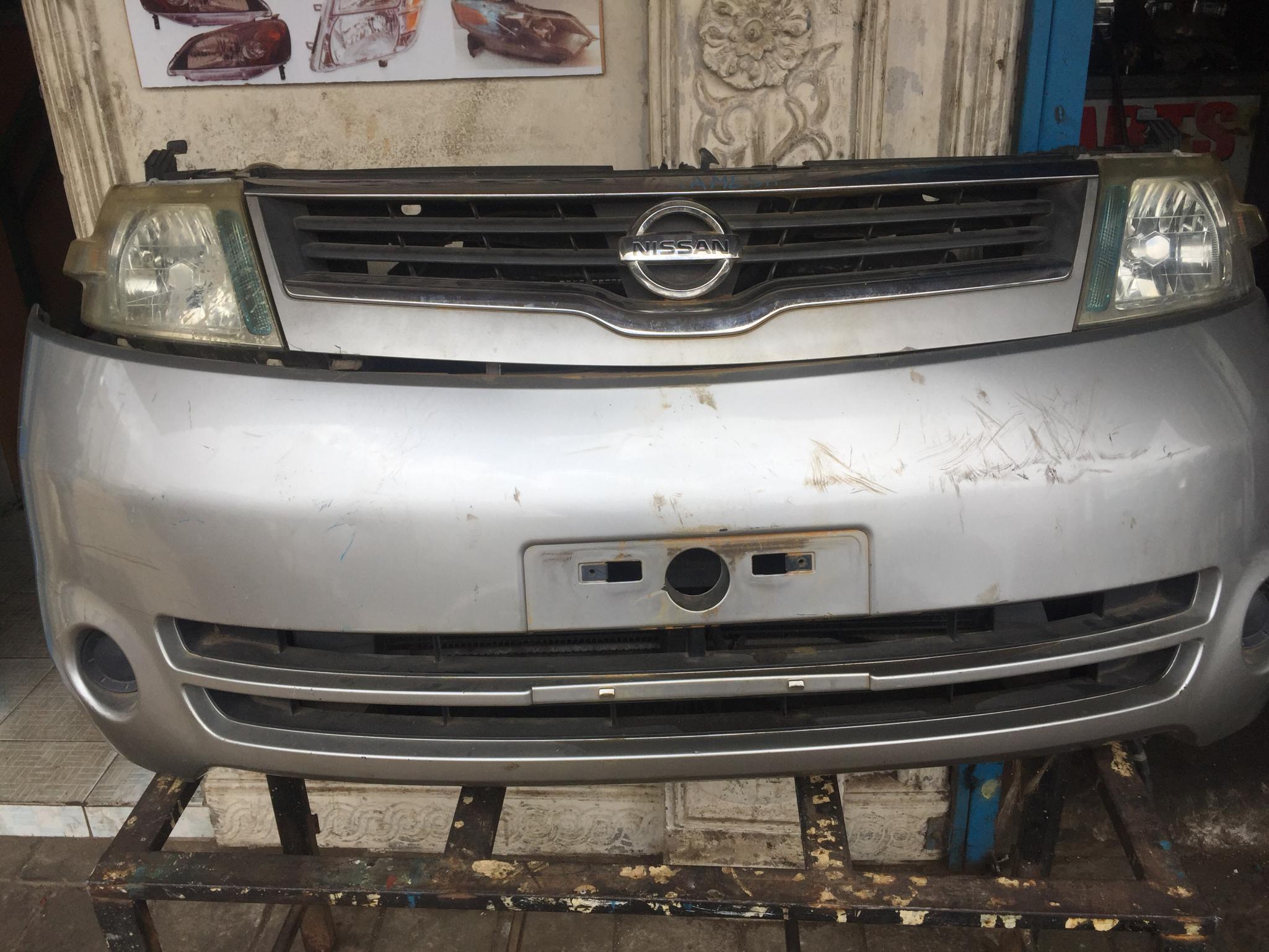 Nissan Sareen nose cut 00930