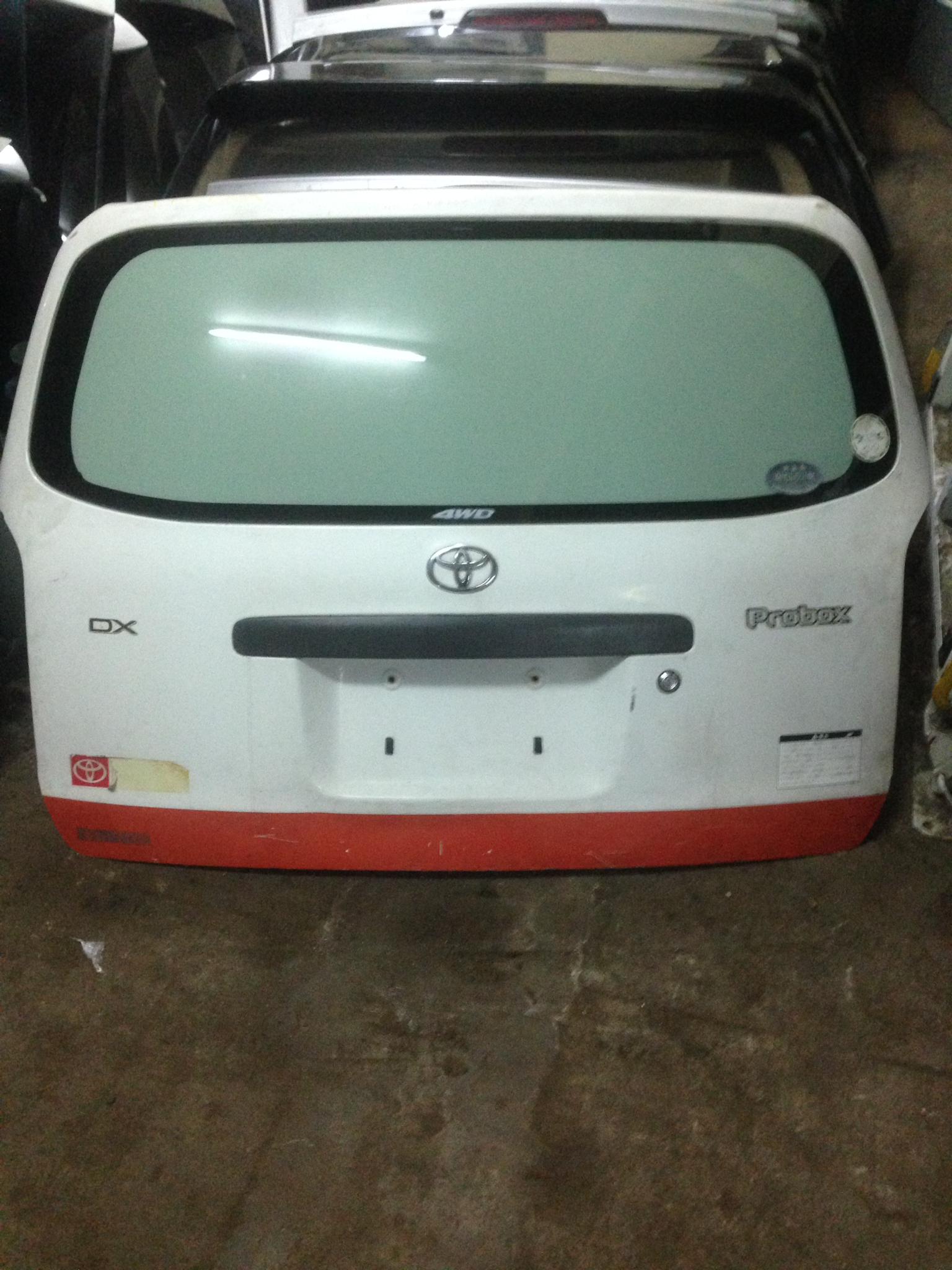 Toyota probox boot 00973