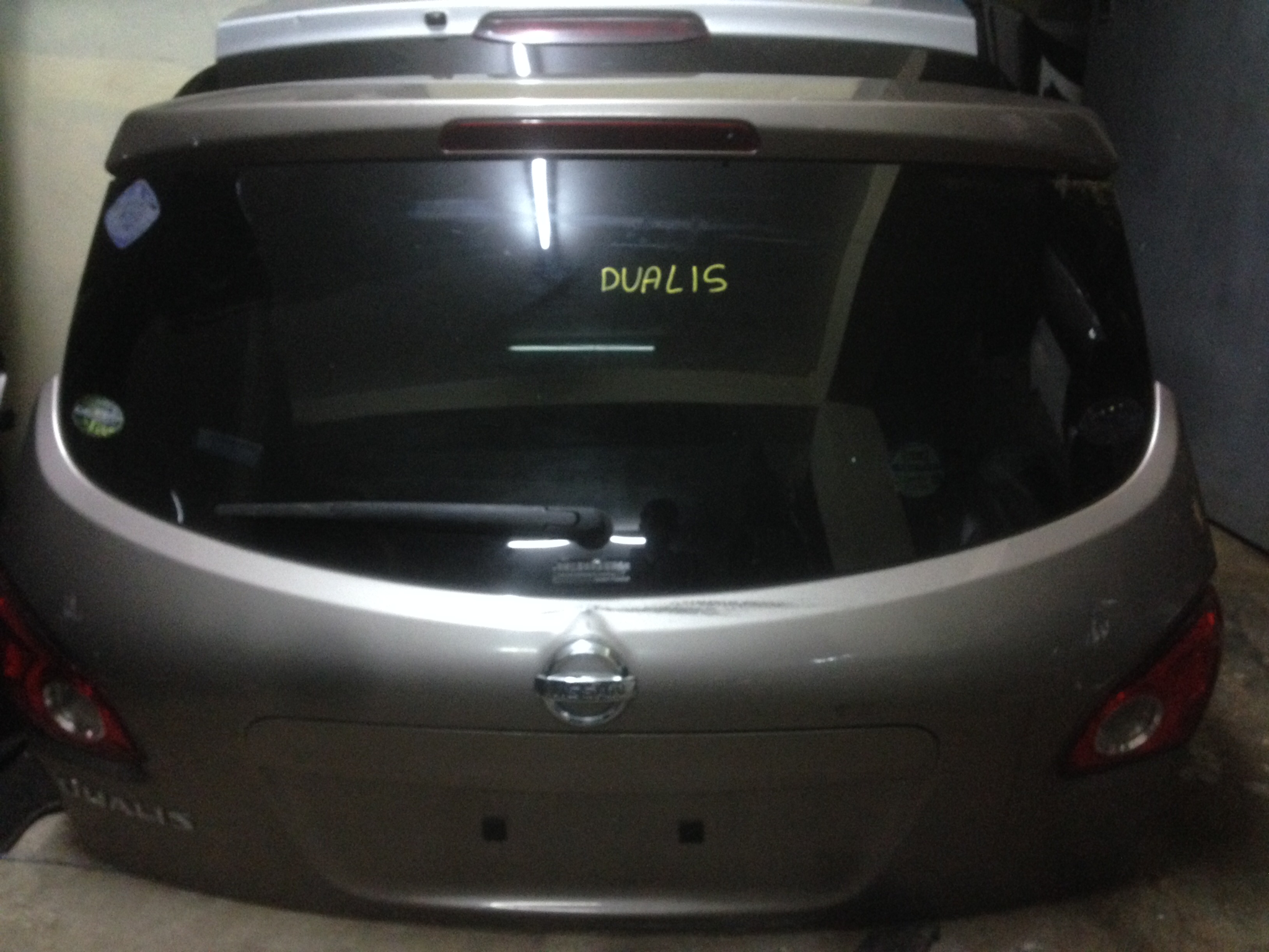 nissan dualis boot 00981