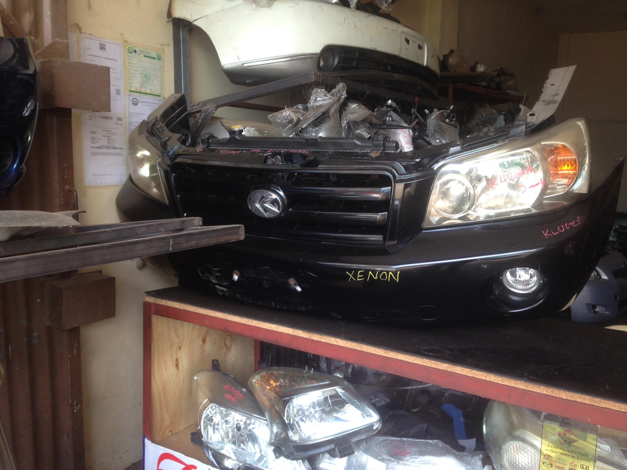 Toyota kluger nosecut  13Tony