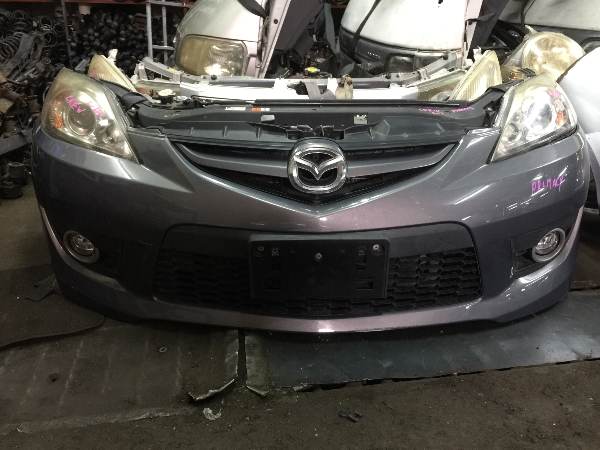 Mazda premacy nose cut 01005
