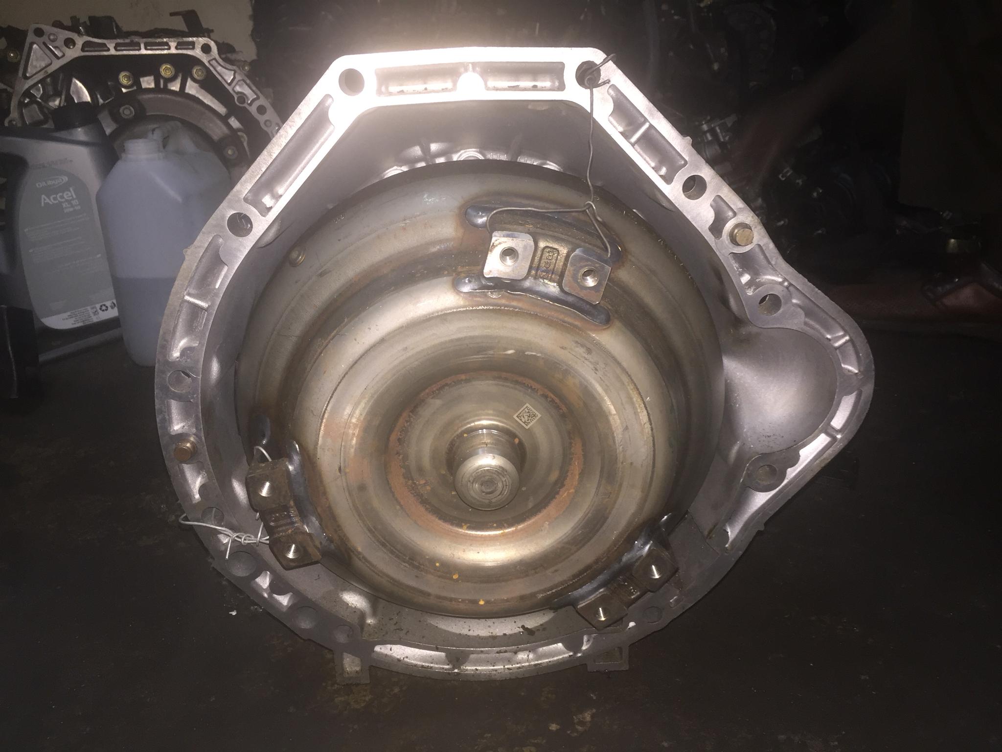 CGI Mercedes Benz gear box