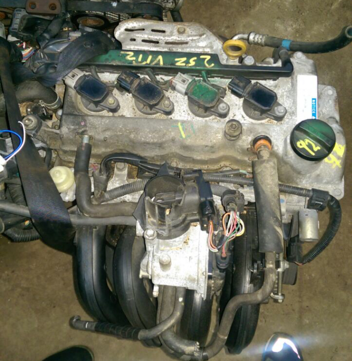 Engine 2SZ complet  01010