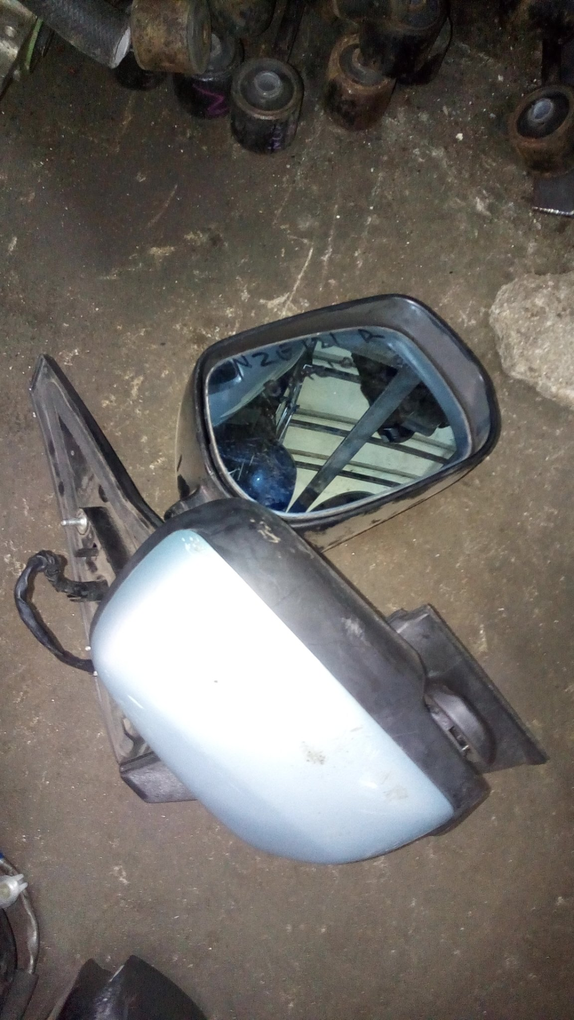 Toyota Spacio nze 121 side mirror 01192