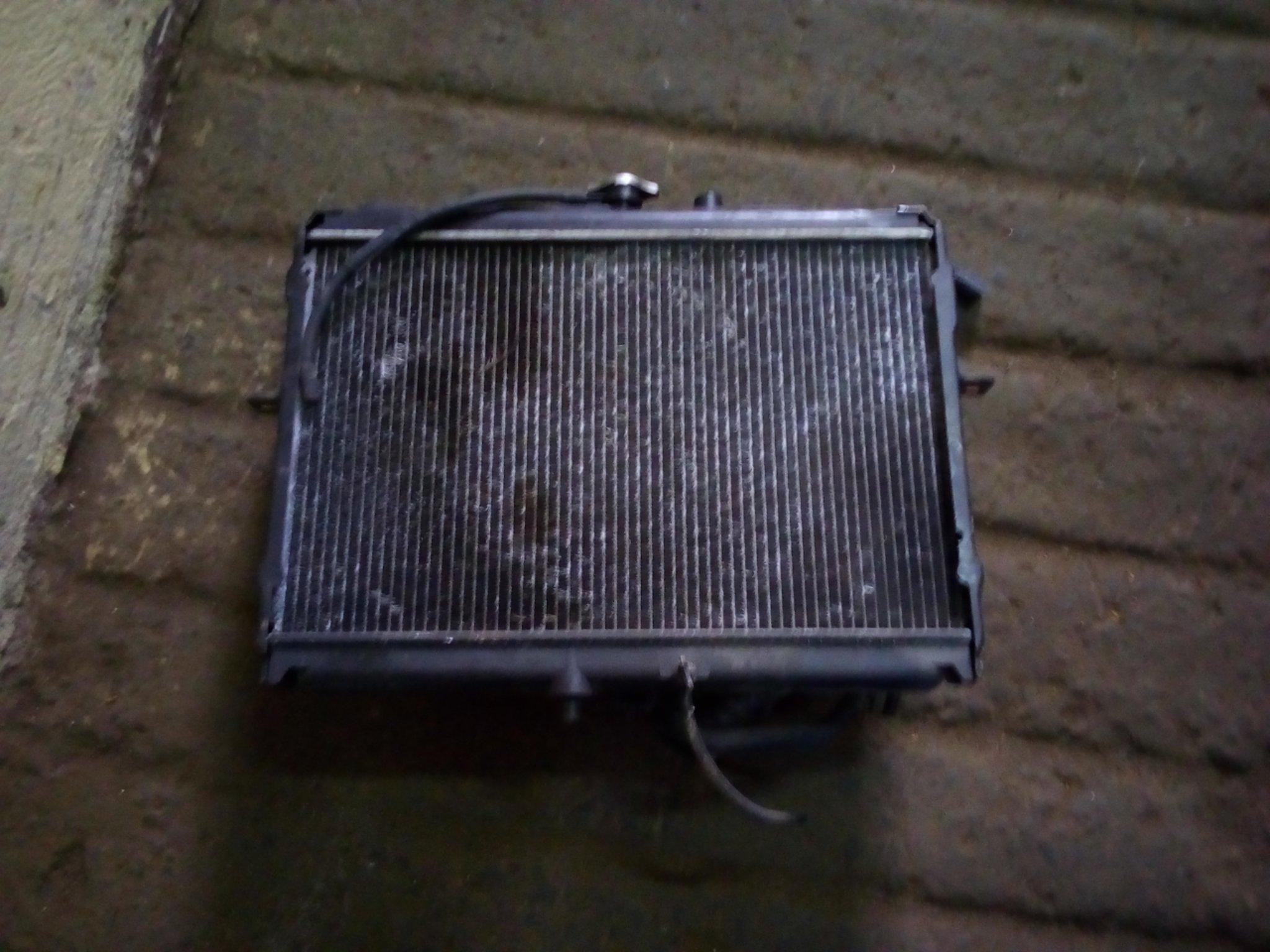 Nissan vannette radiator 18Tony