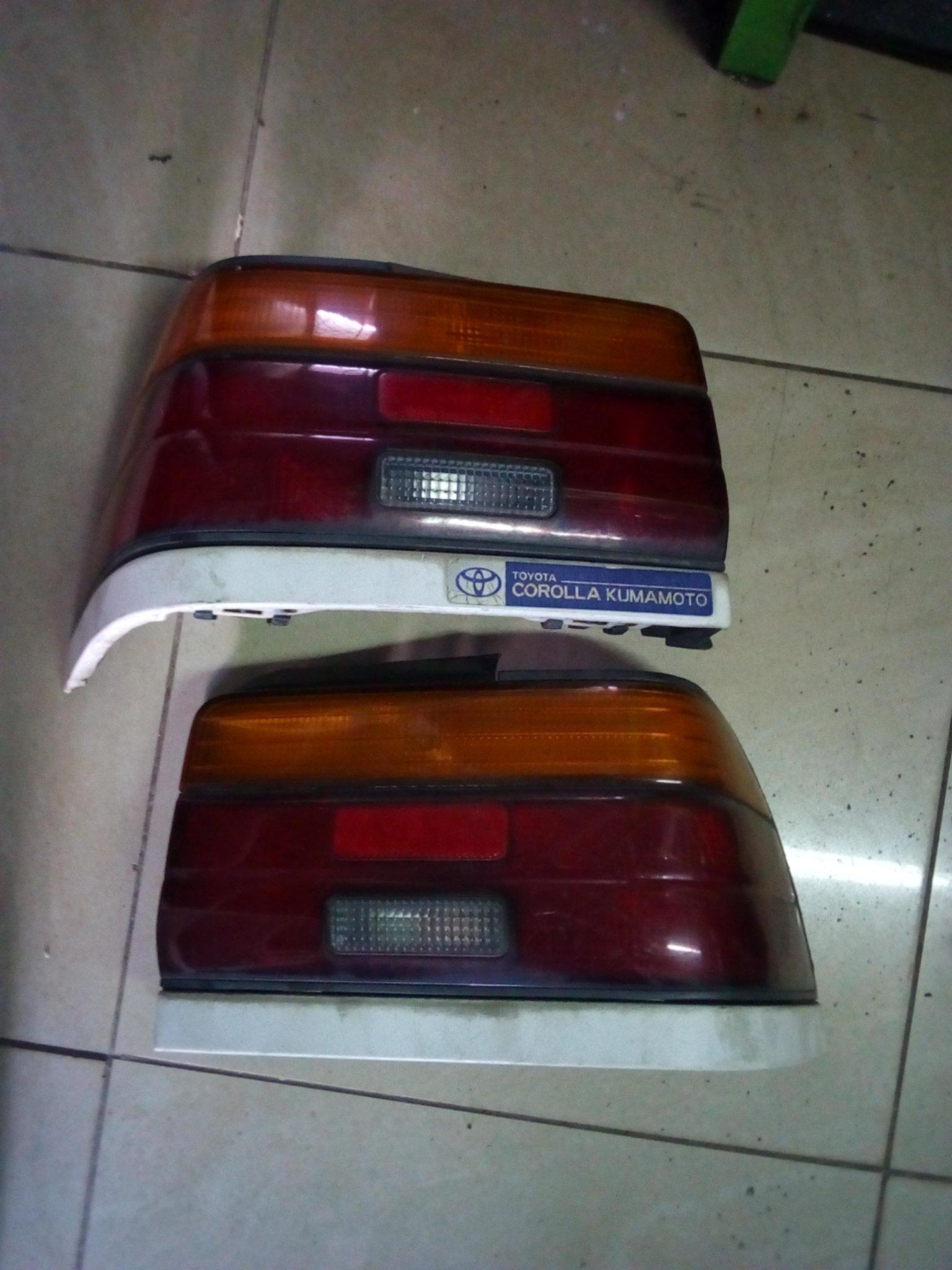 Toyota corolla tail lights pk004