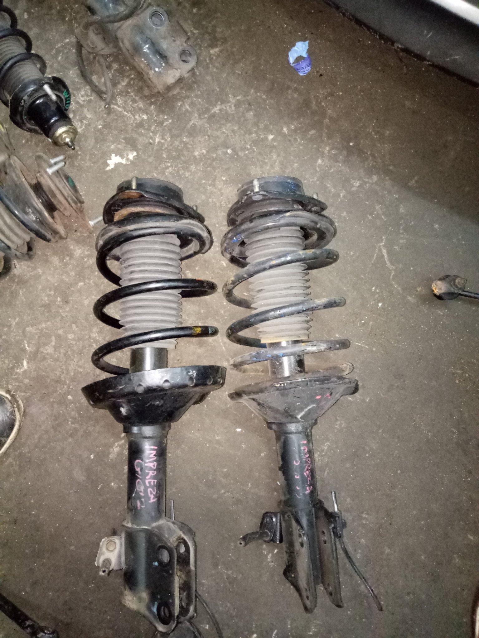Subaru Impreza front shocks alsy01334