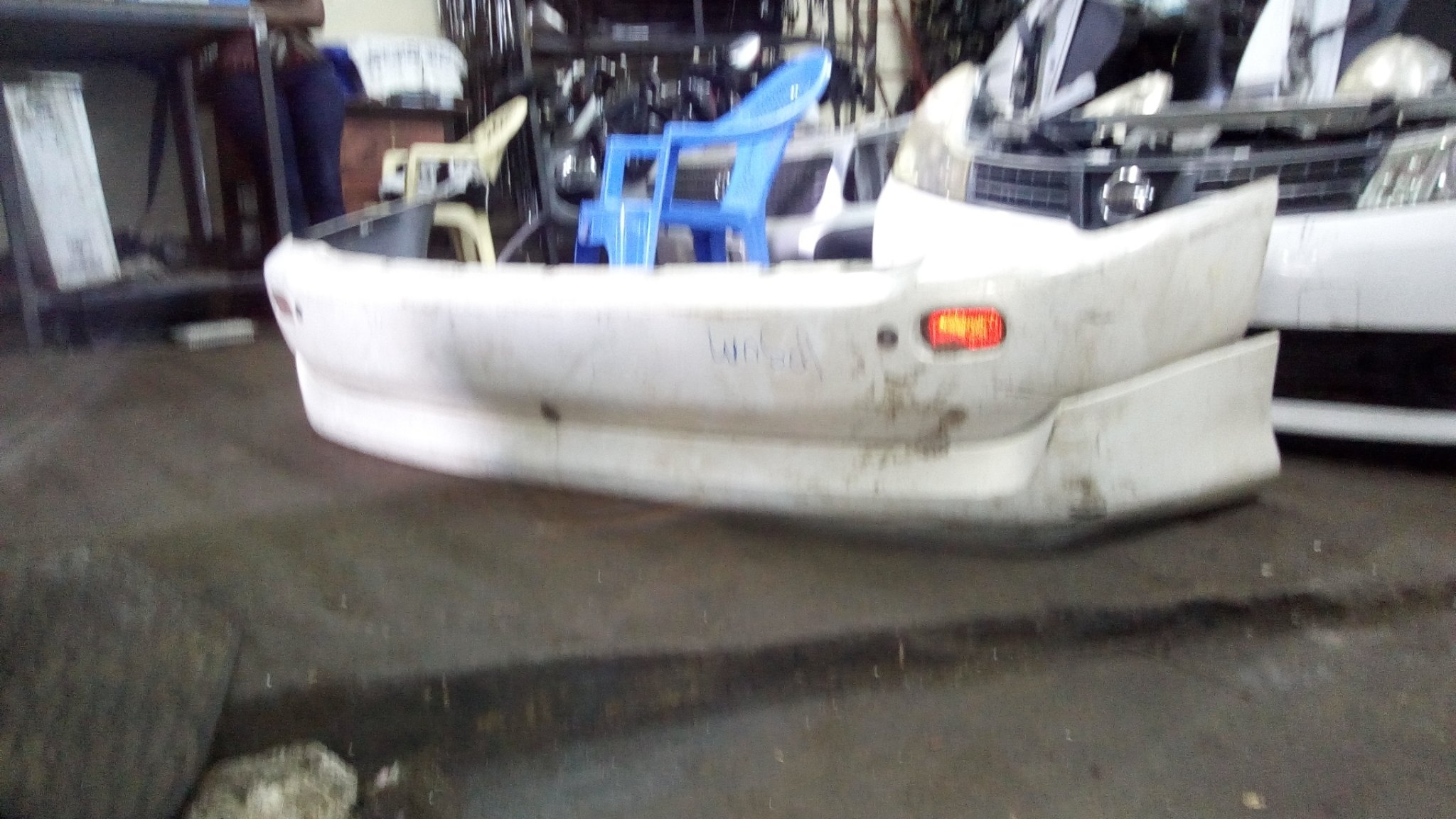 Toyota ipsum rear bumper 01367