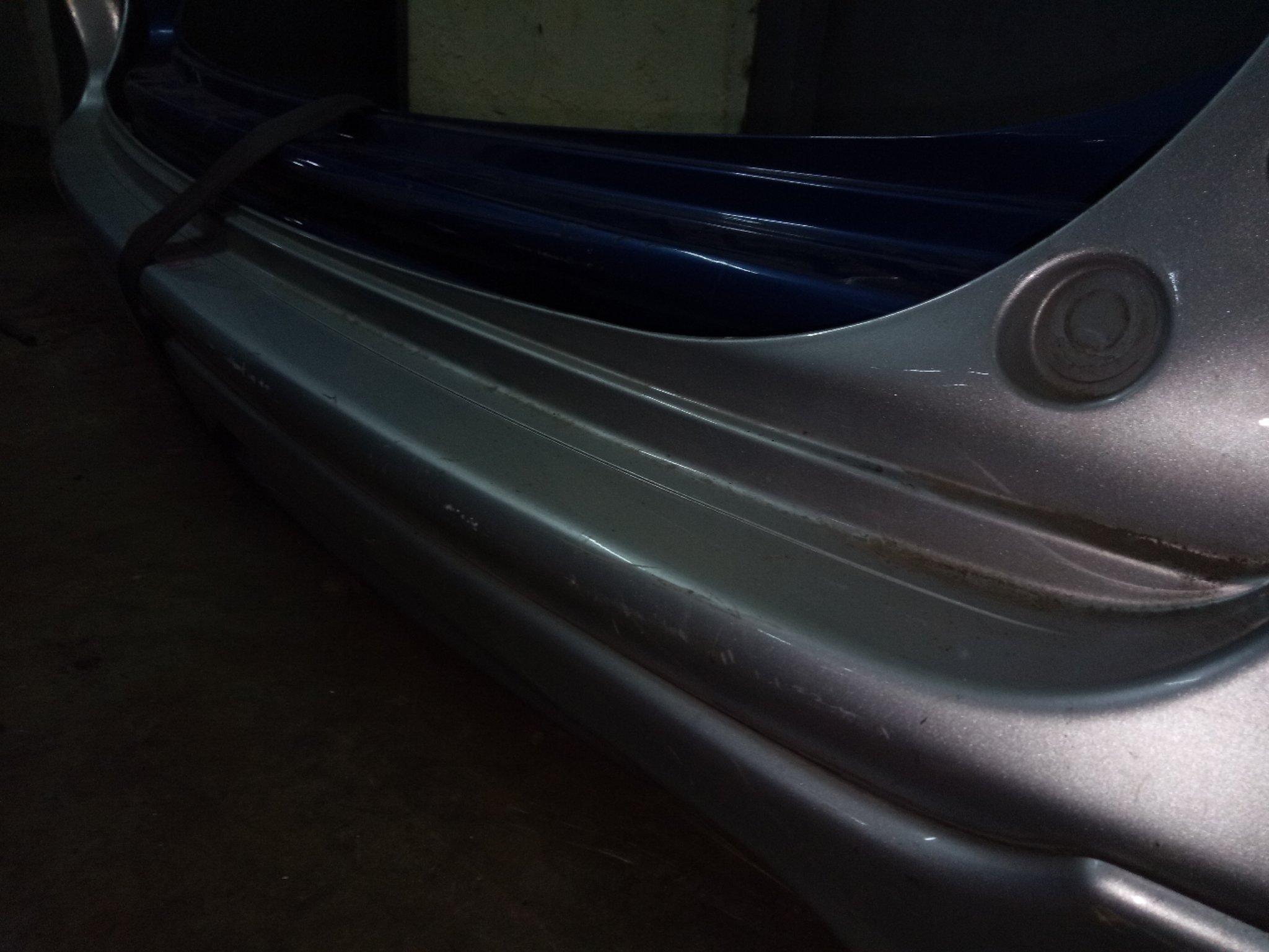 Honda Airwave rear bumper alsy01370