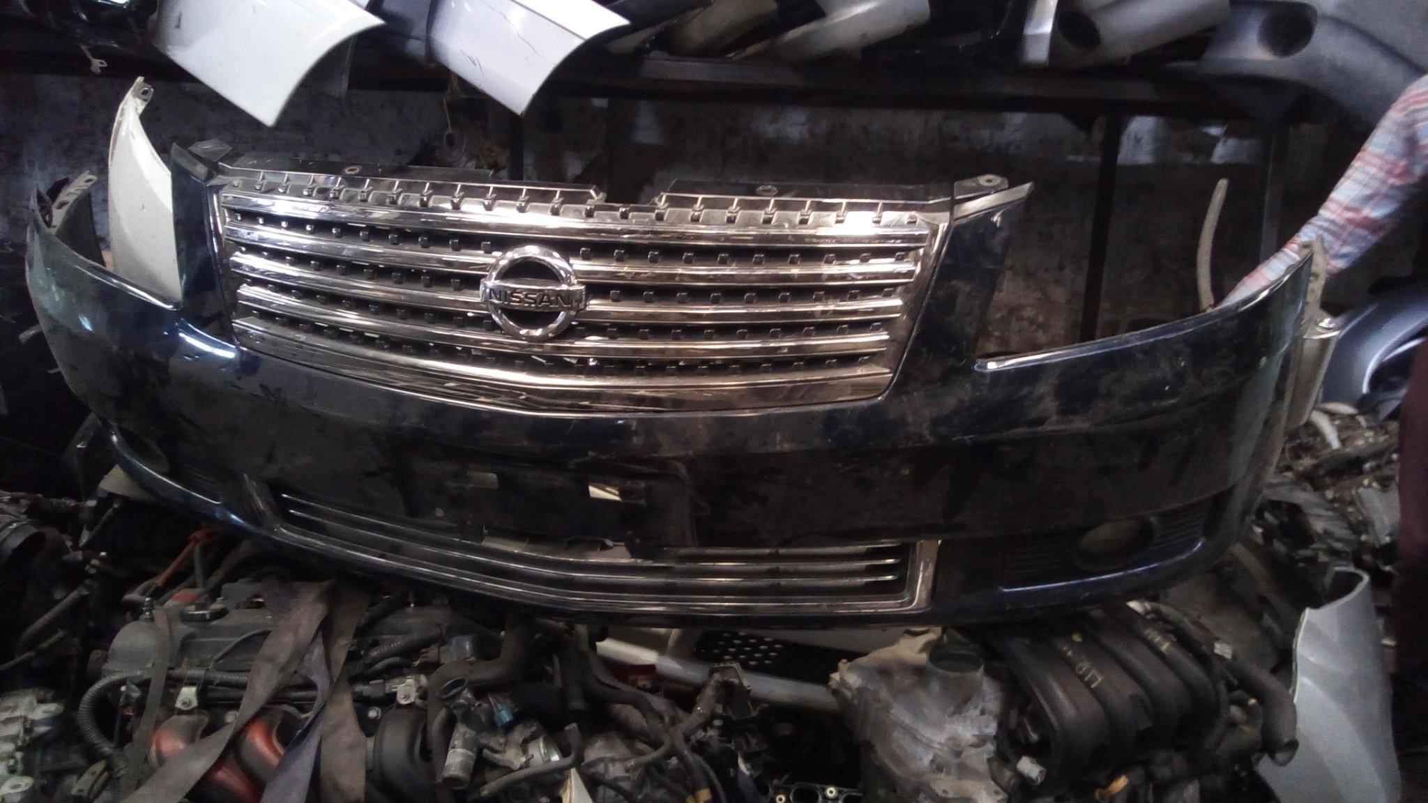 Nissan fuga front bumper 01387