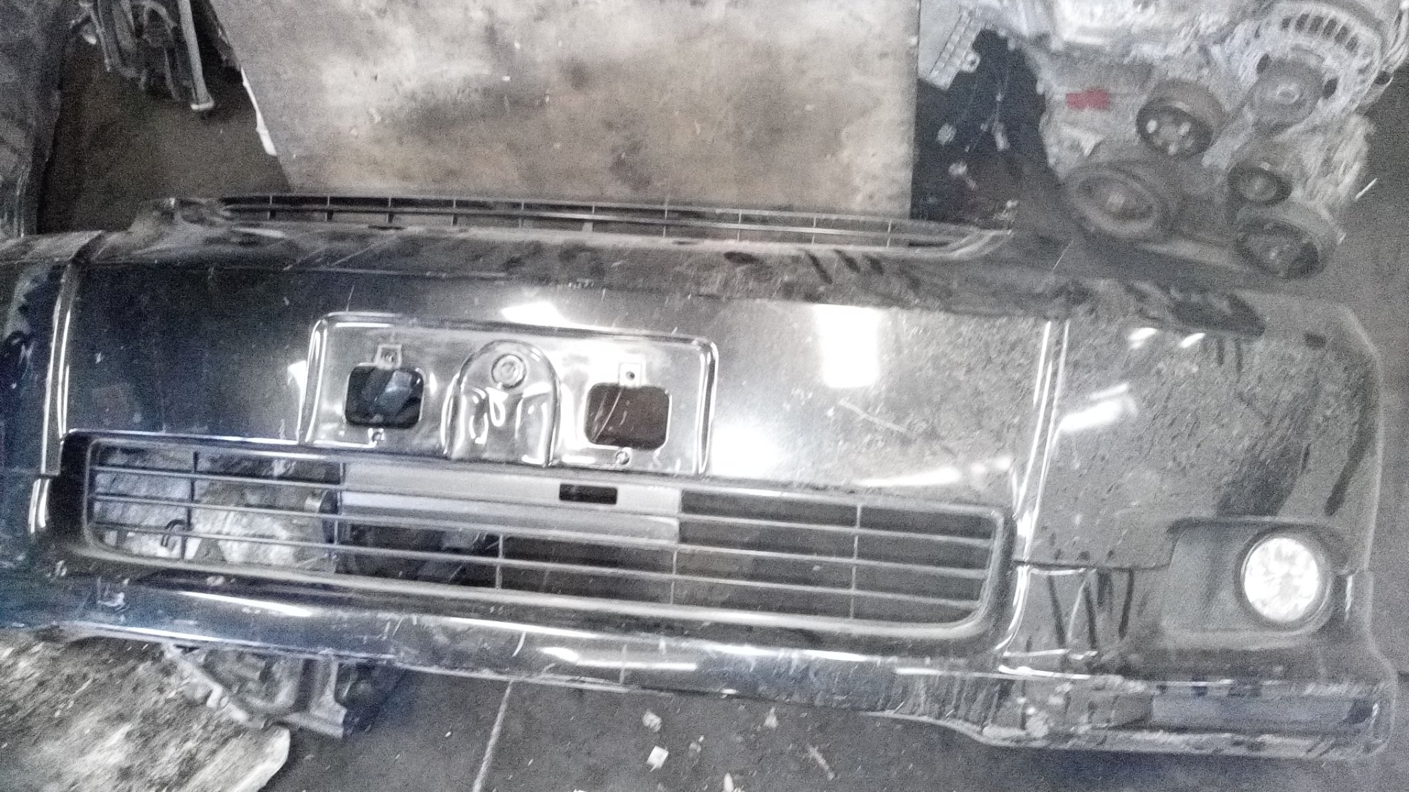 Toyota wish front bumper 01389