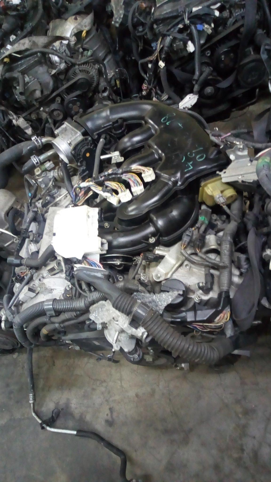 Toyota prado 120 engine