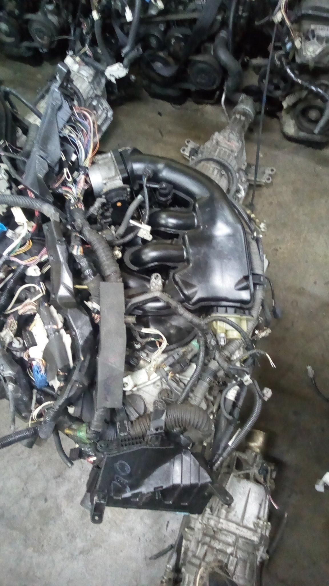 Toyota mark X 4gr engine abs008