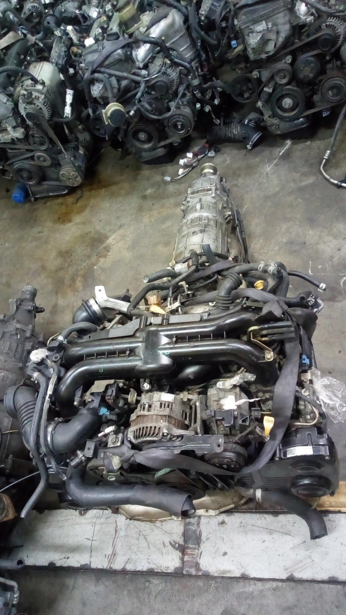 Ej 20 turbo engine 01403