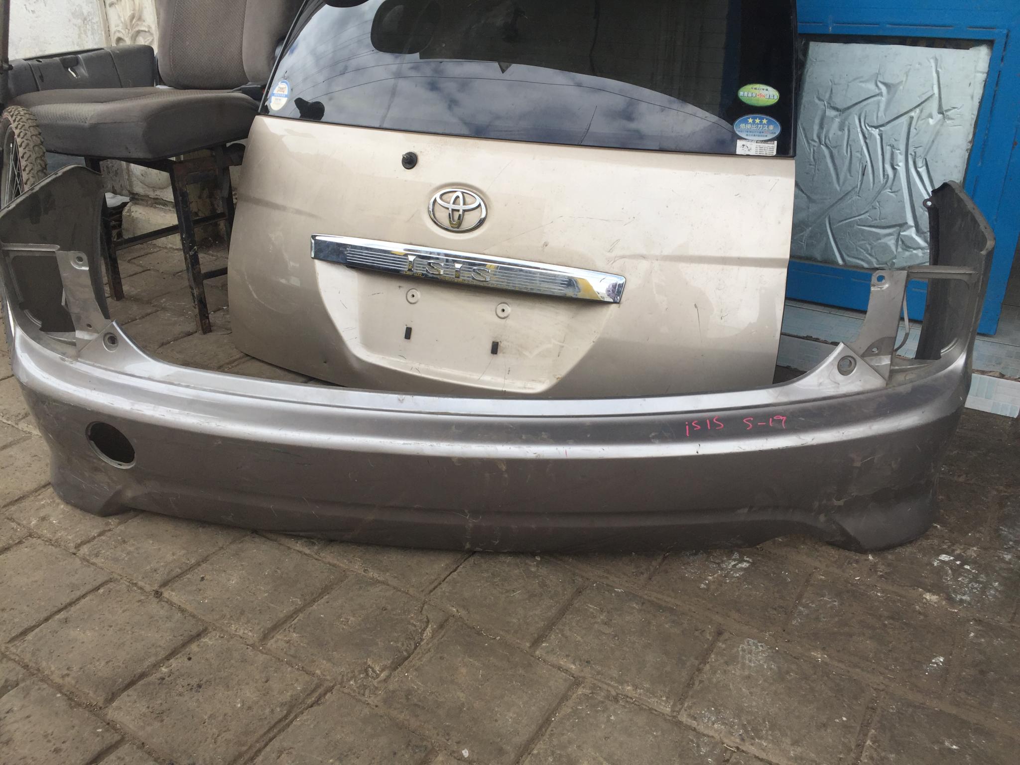 Toyota Isis rare bamper
