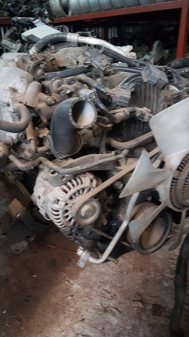 Engine for F8 for vannet/bongo